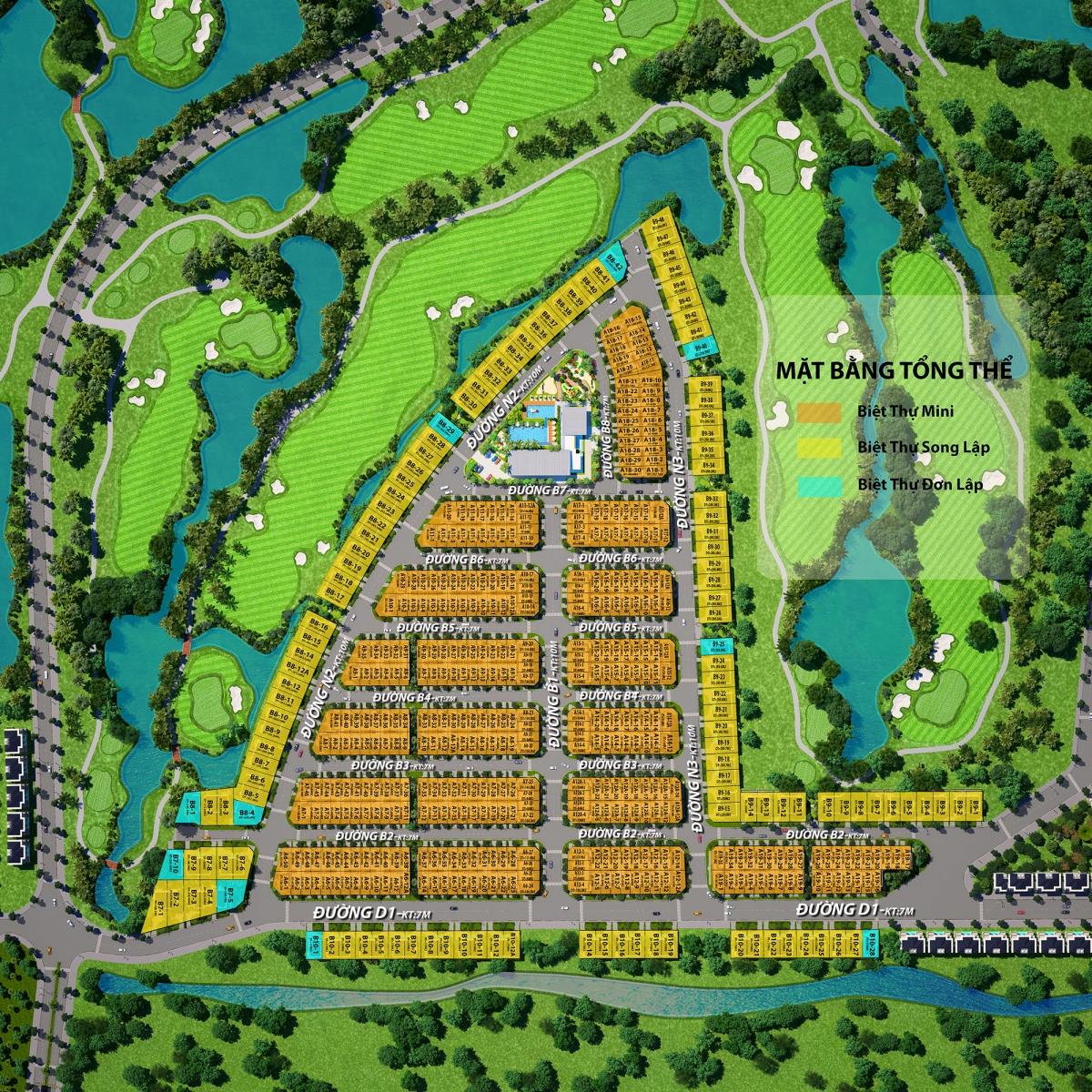 Khu nghỉ dưỡng West Lakes Golf & Villas ở đâu